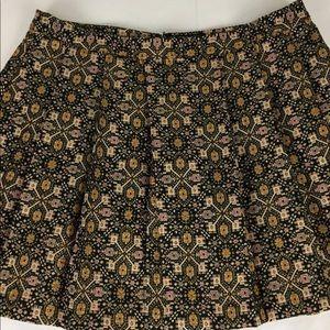 Forever 21 Plus size 16 Brocade Skirt Skater